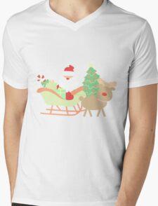 Santa #1 Mens V-Neck T-Shirt