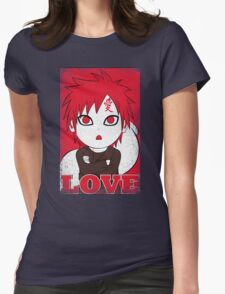 I Love Cute Womens Fitted T-Shirt