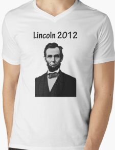 Lincoln 2012 Mens V-Neck T-Shirt