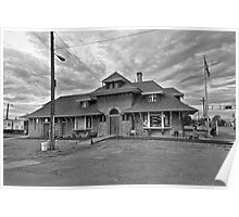 Brigham City Train Depot Poster