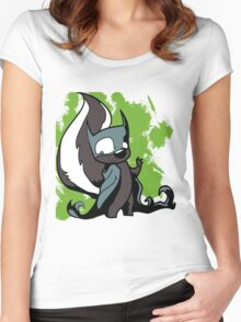 Batskunk 1 Women's Fitted Scoop T-Shirt