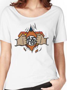 Super saiyan man Women's Relaxed Fit T-Shirt