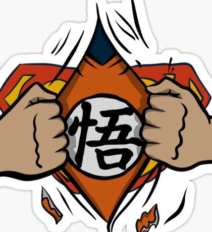 Super saiyan man Sticker