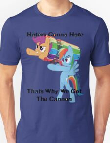 Party Cannon For The Haters  Unisex T-Shirt