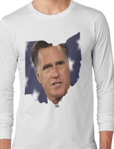 Ohio is for Romney, Long Sleeve T-Shirt