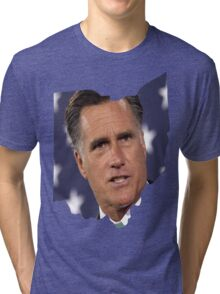 Ohio is for Romney, Tri-blend T-Shirt