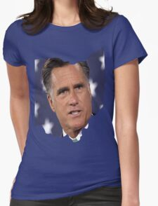 Ohio is for Romney, Womens Fitted T-Shirt