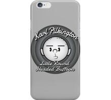 The Round Headed Buffoon iPhone Case/Skin
