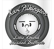 The Round Headed Buffoon Poster