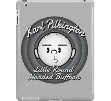 The Round Headed Buffoon iPad Case/Skin