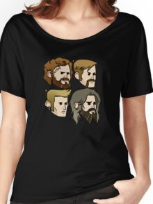 MASTODON cartoon quartet Women's Relaxed Fit T-Shirt
