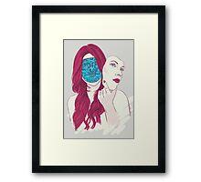 Mona 2.0 Framed Print
