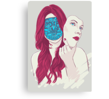Mona 2.0 Canvas Print
