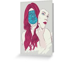 Mona 2.0 Greeting Card