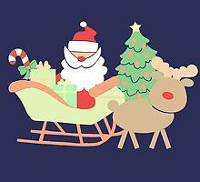 Santa #2 by simplepaperplan