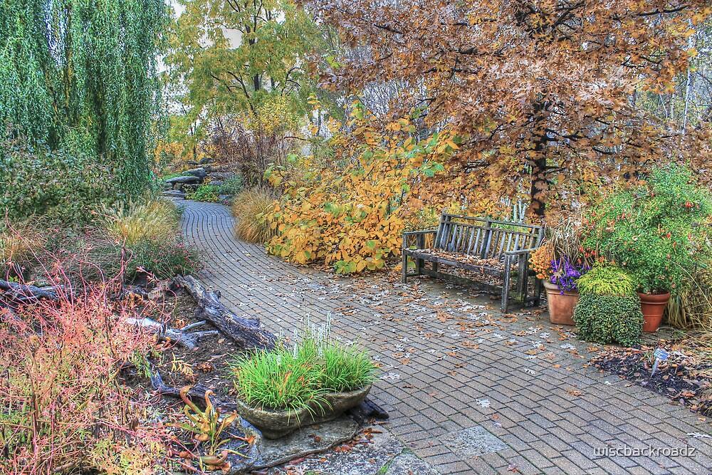 The Autumn Brick Trail by wiscbackroadz
