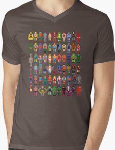 8-bit Masters Mens V-Neck T-Shirt