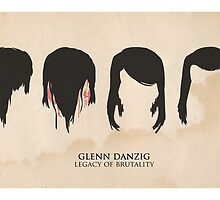 Glenn Danzig: Legacy of Brutality by peopleinspandex