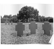German War Cemetery, Maleme, Crete #3 Poster