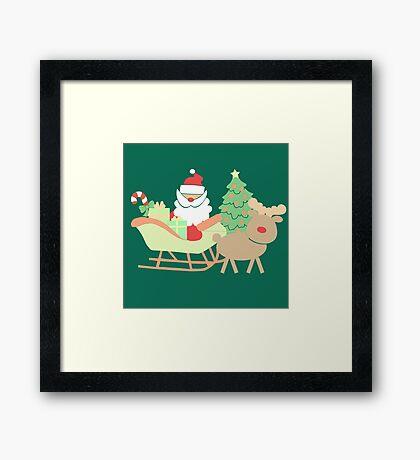 Santa #3 Framed Print