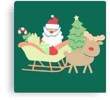 Santa #3 Canvas Print