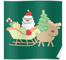Santa #3 Poster