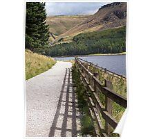 Scenic Walk In the Peak District Poster