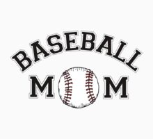 Baseball Mom by FamilyT-Shirts