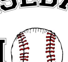 Baseball Mom Sticker