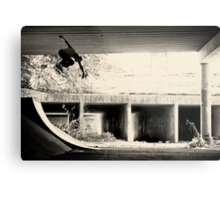 Jason Dill backside ollie by Sam Muller Metal Print