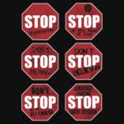 Stop! by cactusrobtees
