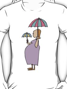 Pregnant New Mother Mother's Day T-Shirt