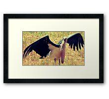 "'Kenian Marabou Stork ""aka"" The Undertaker Bird' Framed Print"