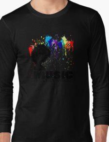 MUSIC IS EVERYWHERE Long Sleeve T-Shirt