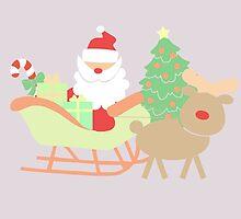 Santa #4 by simplepaperplan