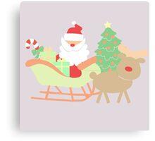 Santa #4 Canvas Print