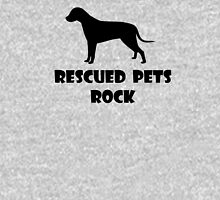 Rescued Pets Rock Unisex T-Shirt