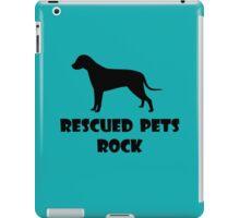 Rescued Pets Rock iPad Case/Skin
