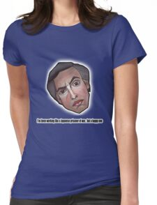 I've been working like a Japanese prisoner of war... but a happy one - Alan Partridge Tee Womens Fitted T-Shirt