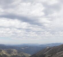 View From Mount Hotham  Sticker