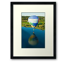 Reflections On The Dechutes Framed Print