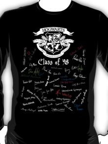 Class of '98 (on black) T-Shirt