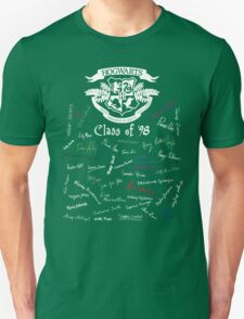 Class of '98 (on black) Unisex T-Shirt