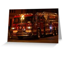 Fire! Fire! Greeting Card