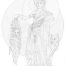 hecate & Clytius by redqueenself