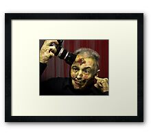 Boy, did I get out of the wrong side of bed this morning..!!! Framed Print