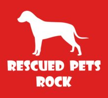 Rescued Pets Rock One Piece - Long Sleeve