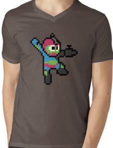 Jaw-man Mens V-Neck T-Shirt