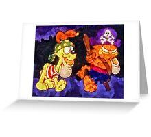Garfield Halloween Greeting Card