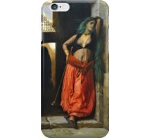the almeh (with pipe) iPhone Case/Skin